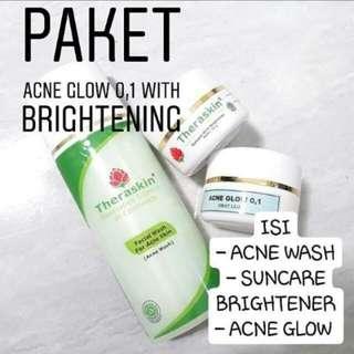 Paket perawatan acne glow