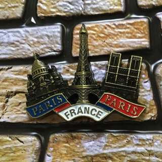 Paris France souvenir ref magnet