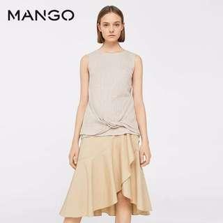 <Sale $15>Mango beige top Brand New