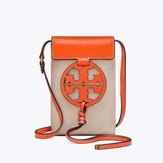 Authentic Tory Burch Miller Phone Crossbody Bag