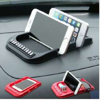 Anti-slip cushion mobile phone holder