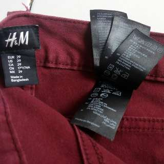 Celana panjang pria H&M