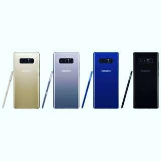 Kredit Samsung Galaxy Note 8