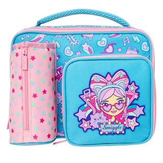 Smiggle squad compartment lunchbox
