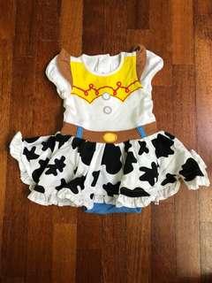 Cowboy girl dress