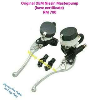 Pre Order Masterpump Original OEM Brand Nissin (Ada certificate original OEM )
