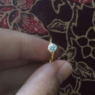 cincin gold emas 916