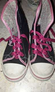 Barbie Hightop Sneakers