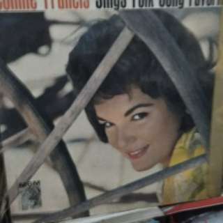 LP CONNIE FRANCIS SINGS FOLK SONG FAVORITE