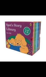 Spot's Story Library 12 Books Book Collection Box Set by Eric Hill Brand New.