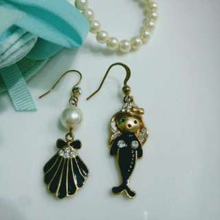 🚚 正韓Korea(買五送一)#Buy five get one AB抗敏 耳環 Anti-allergic earrings#免運#free shopping