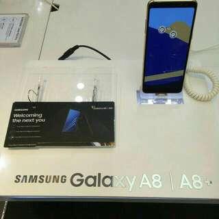Samsung A8 2018 promo 0.99 tenor 9 bulan cicilan