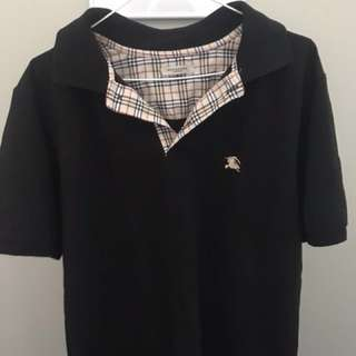 Burberry Men's Shirt (LARGE)