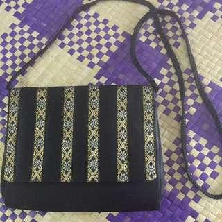 Sling Bag fabric songket
