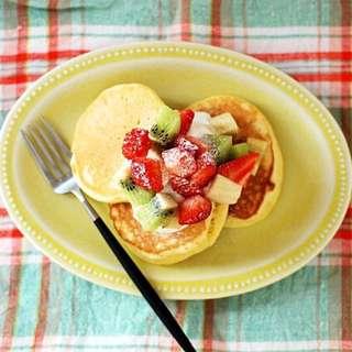 日本製zakka益子燒黃色陶瓷碟all day breakfast