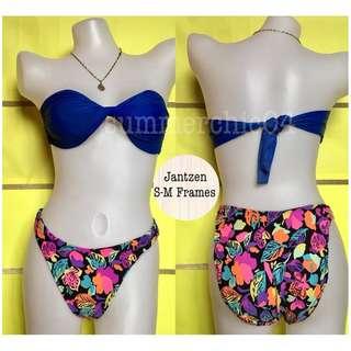 🌸B-00063Floral Highwaisted Bikini Bottom🌸
