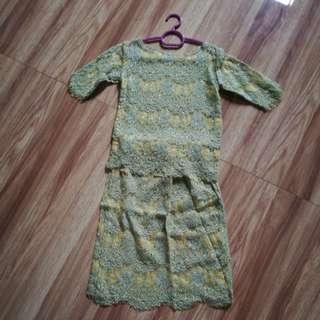 Baju Kurung ala2 anak Cik Ta😘