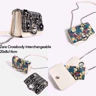 Zara double flap original