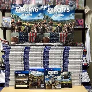 PS4 Farcry 5 普通版/豪華版