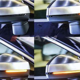 Audi 8V A3 / S3 / RS 3 2013-18 Dynamic LED WING MIRROR INDICATOR REPEATER Blinker PAIR