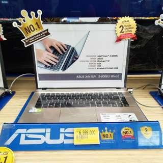 Laptop asus x441uvwx bisa dicicil cepat