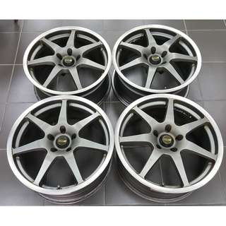 SSR GT7 18 8.5jj off 35 5H 114 Original JAPAN