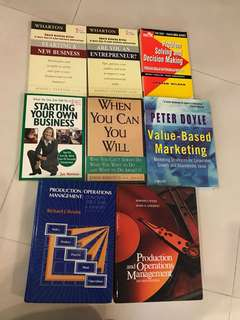 Used textbooks and self-help books
