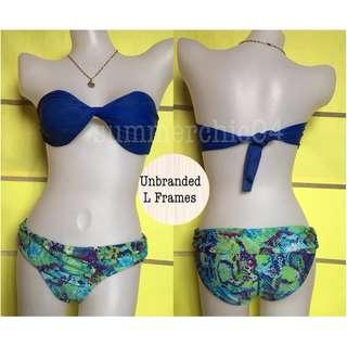 🌸B-00070Green Snake Bikini Bottom🌸