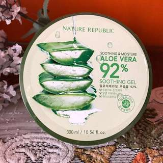 Nature Republic Aloe Vera Soothing Gel 92%