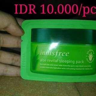 Innisfree Aloe Revital Sleeping Pack 8ml (sample)