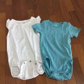 2pcs H&M Rompers
