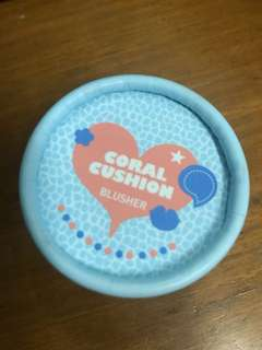 Face shop coral cushion blusher