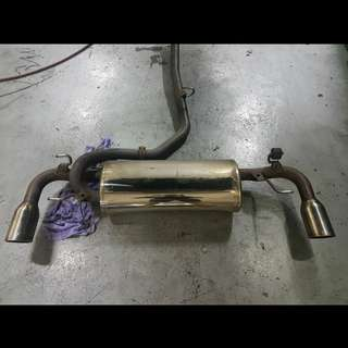 Mazda RX-8 Knight Sports Exhaust with cert