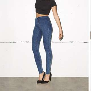 High Waist Jeggings / Jeans