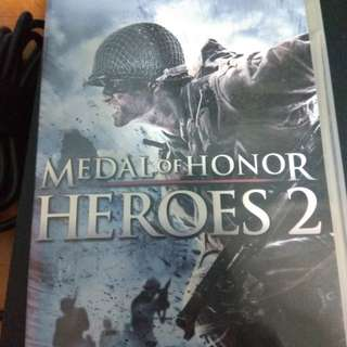 Medal of Honor Heroes 2 psp umd game