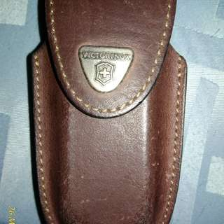 Victorinox leather sheath