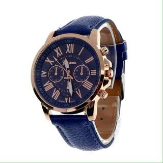 Geneva® Montre Femme Romana Quartz Watch