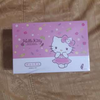 沭月 HELLO KITTY  花草茶