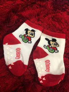 NEW mickey mouse newborn Baby Socks