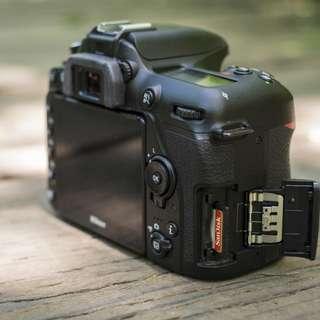 kredit  Nikon D7500 DSLR Camera Body Basic Kit