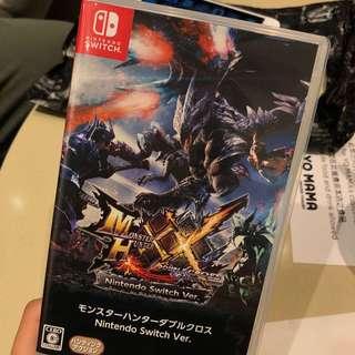 Switch Monster Hunter XX