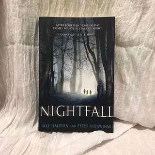 Nightfall novel by Jake Halpern and Peter Kujawinski