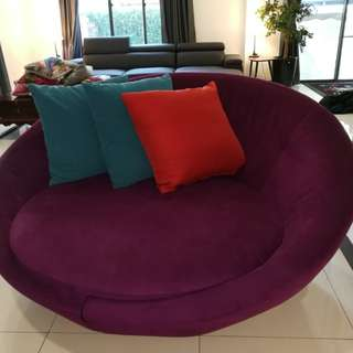 Cool 1 year old Kinsen brand purple Sofa