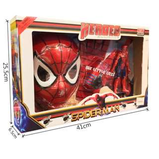 Spiderman 3 in 1 Gift Set Collection Mask Glove Toy