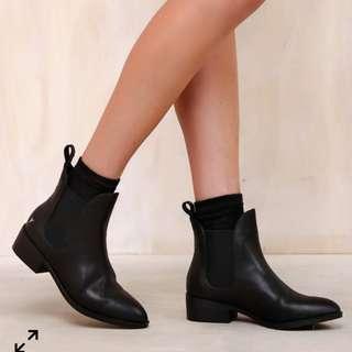 Windsor Smith Grinded Black boots 7