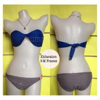 🌸B-00075White and Black Stripes Bikini Bottom🌸