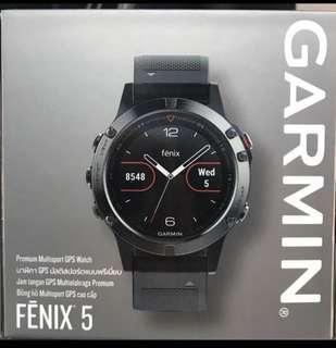 BN Garmin Fenix 5 NON Sapphire