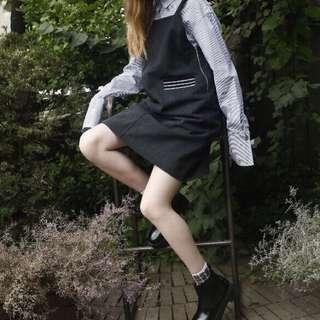 Noir 3 Denim Dress