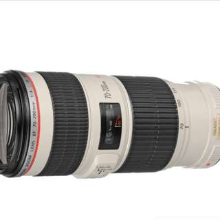 Canon 70 200 F4 L IS USM