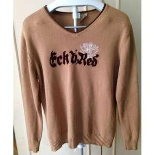 SALE! Longsleeve Knit Pullover - EckoRed